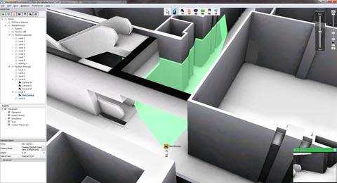 Software para el diseño de sistemas de videovigilancia en 3D