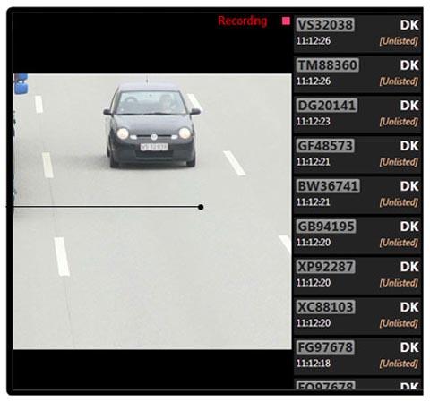 Identificación automática de matrículas de vehículos