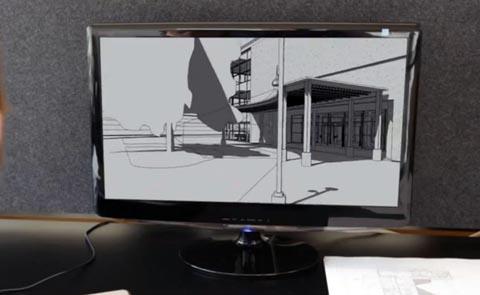 Modelos de cámara en 3D
