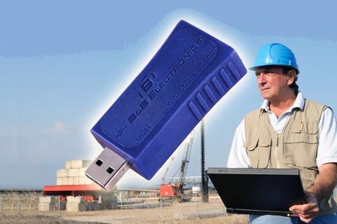 Protector de puertos USB portátil