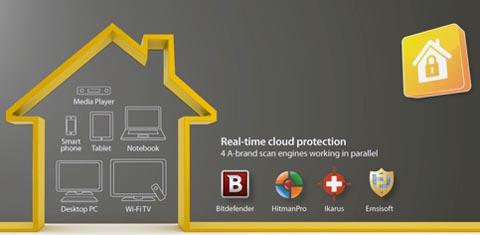 Protección en routers