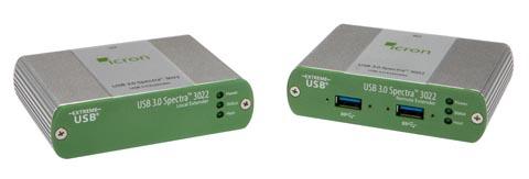 Extensor USB hasta 100 m por fibra óptica