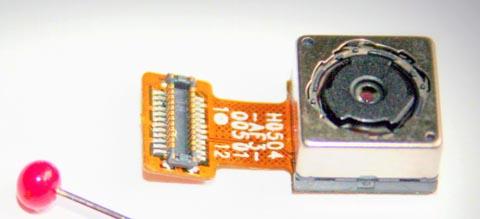 Módulo de mini-cámara con resolución de 8 Mpx