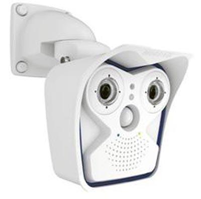 Plataforma de cámara con dos sensores