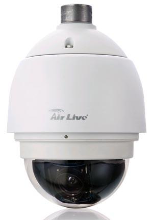Cámara IP con zoom óptico de 20x
