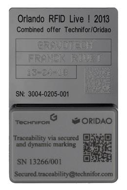 Dispositivos de seguridad con chip
