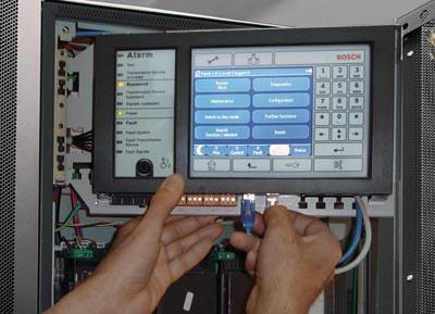 Interfaz IP entre la central y el sistema avisos