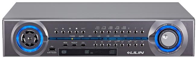 NVR con pantalla táctil