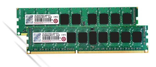 Módulos DDR3-1866 para servidores