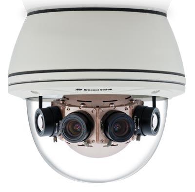 Cámara de 40 Mpx con visión panorámica 180°