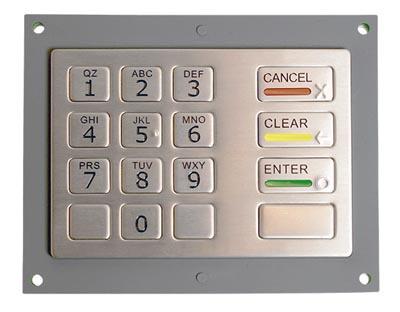 Teclado de entrada PIN