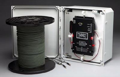 Kit de fibra óptica para protección perimetral