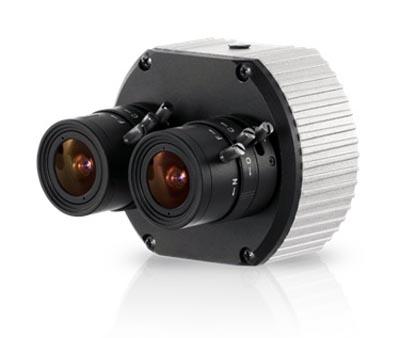 Cámara-IP MegaPixel con doble sensor