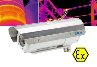 Cámaras termográficas ATEX