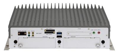 Sistema NVR sin ventilador