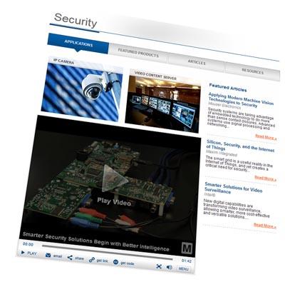 Web para aplicaciones de seguridad