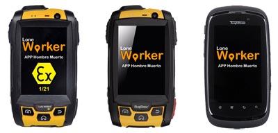 Aplicación Lone Worker para Android
