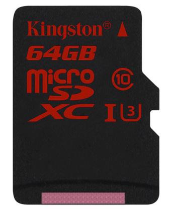 Tarjeta microSD para video 4K