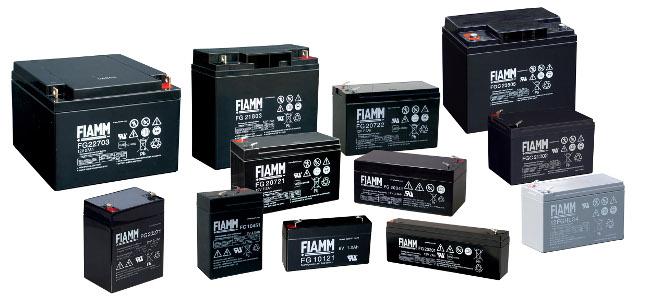 Baterías de plomo-ácido para emergencias