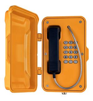 Teléfonos antivándalicos para entornos adversos