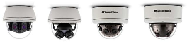 Cámaras multi-sensor panorámicas