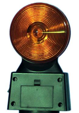 Luz estroboscópica con batería incorporada