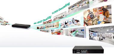Grabador de vídeo en red con soporte para resoluciones 4K