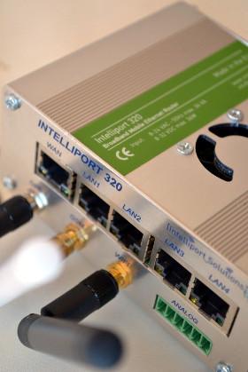 Gateway para conexión de cámaras de videovigilancia