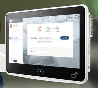 Ordenador interactivo para sanidad