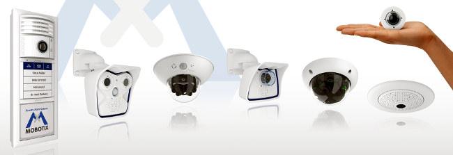 Soluciones de vídeo vigilancia completas