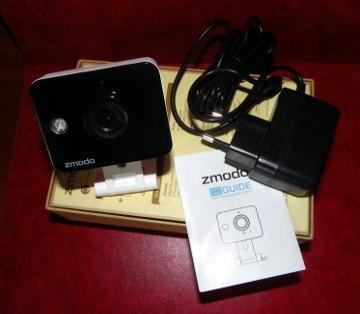 Cámara de vídeo vigilancia en el hogar