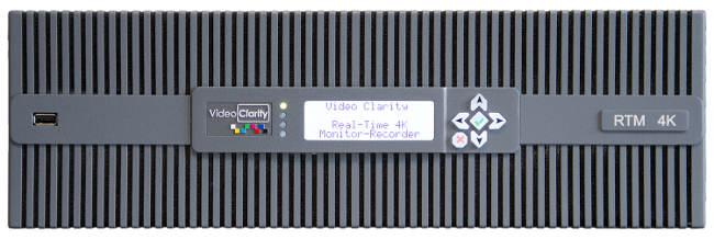 Monitorización de vídeo 4K en tiempo real