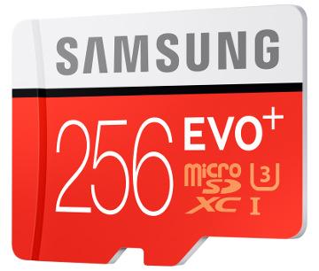 tarjeta MicroSD de 256 GB