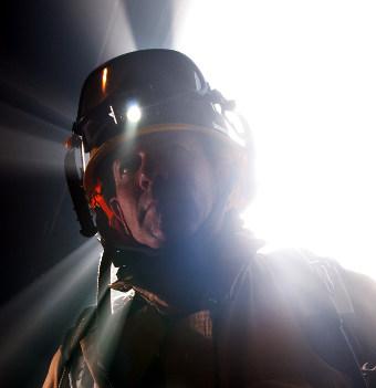 Linterna para cascos