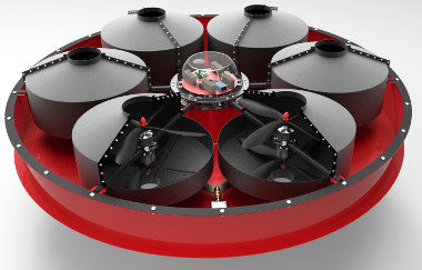 Drones para extinción de incendios