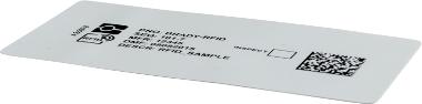 Etiqueta ultrafina con tecnología RFID