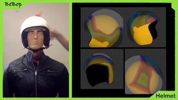 Sensores de impacto para cascos