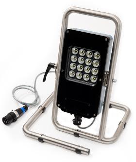 Linterna ATEX - IECEx portátil de gran potencia