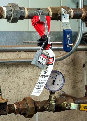 Guía de seguridad para bloqueo y etiquetado