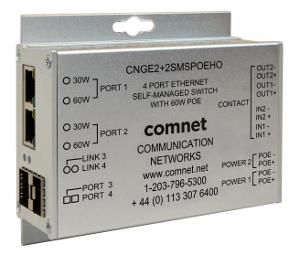 Switches autogestionados con función de ciberseguridad