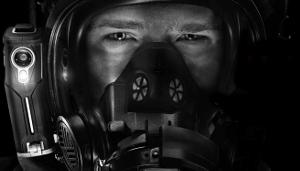 Máscara con imagen térmica incorporada