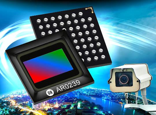 Sensor de imagen digital CMOS de 2.3 Mpx