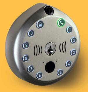 Cámara equipada con cerradura smart lock