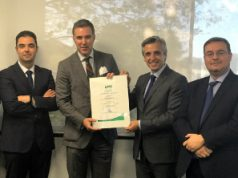 Certificación Europea UNE EN 50518 para Tyco