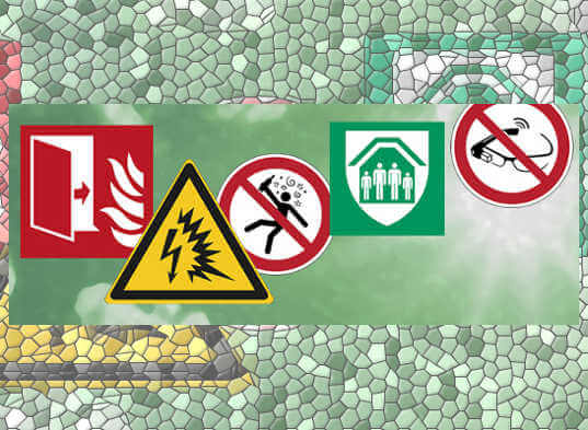 Señales ISO 7010 de seguridad