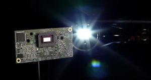 Tecnología DLP de alta resolución para faros de coches