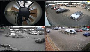 Servidor y matriz de vídeo