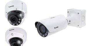 Cámaras H.265 con mejoras en ciberseguridad y visión nocturna