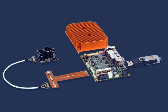 Kit para videovigilancia inteligente