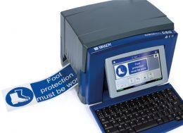Impresora de etiquetas y señales de seguridad